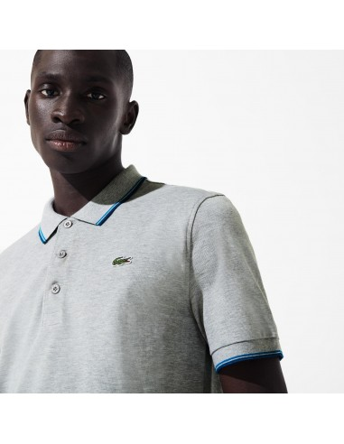 LACOSTE RIBBED COLLAR ULTRA LIGHT...