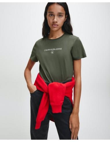 Calvin Klein Jeans Round Logo Organic...